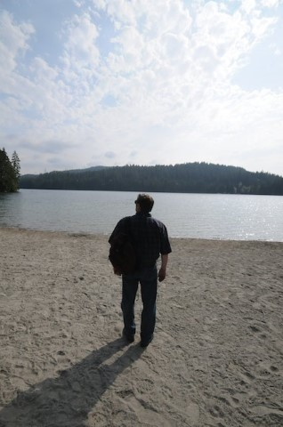 White Pine Beach is situated on Sasamat Lake, and offers excellent swimming and beach activities.