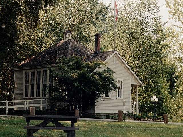 Inverholme Schoolhouse on Deas Island is a popular facility for weddings and other gatherings.