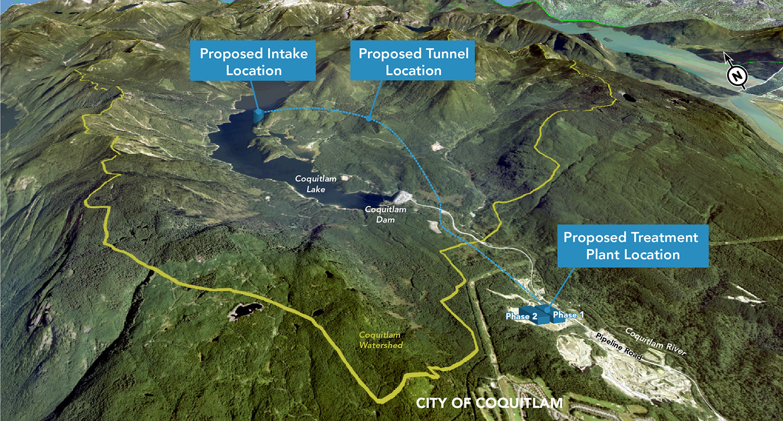 Proposed Coquitlam Lake Water Supply Project
